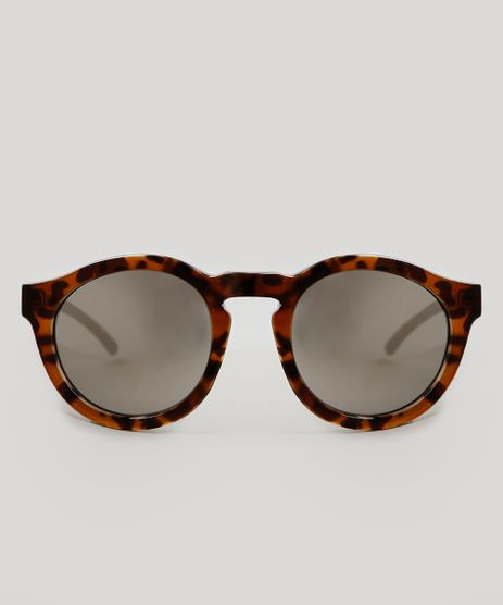 Oculos-de-Sol-Cia--Maritima-Redondo-Feminino-Oneself-Tartaruga-9343659-Tartaruga_1