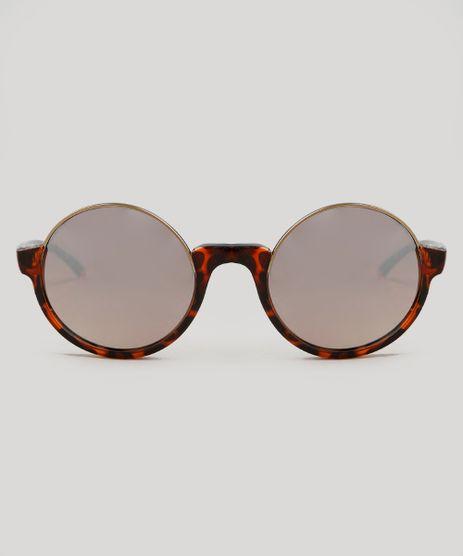 014f45372e Oculos-de-Sol-Cia--Maritima-Redondo-Feminino-Oneself