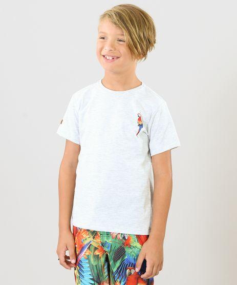 Camiseta-Infantil-Blueman-Tal-Pai-Tal-Filho-Arara-Manga-Curta-Gola-Careca-Cinza-Mescla-Claro-9342059-Cinza_Mescla_Claro_1