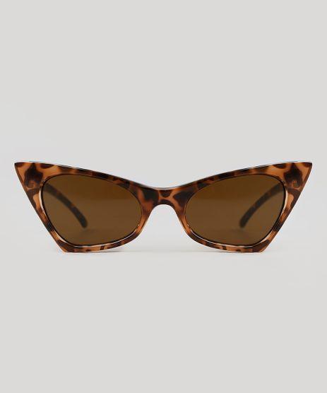 Oculos-de-Sol-Gatinho-Triya-Feminino-Tartaruga-9343675-Tartaruga_1