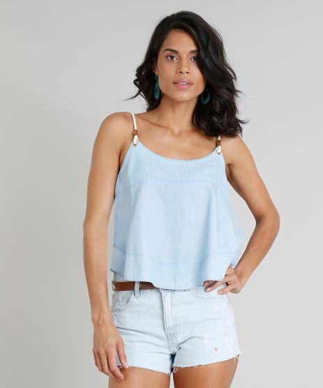 Regata-Jeans-Feminina-Ampla-Agua-de-Coco-com-Alca-de-Corda-Azul-Claro-9331762-Azul_Claro_1