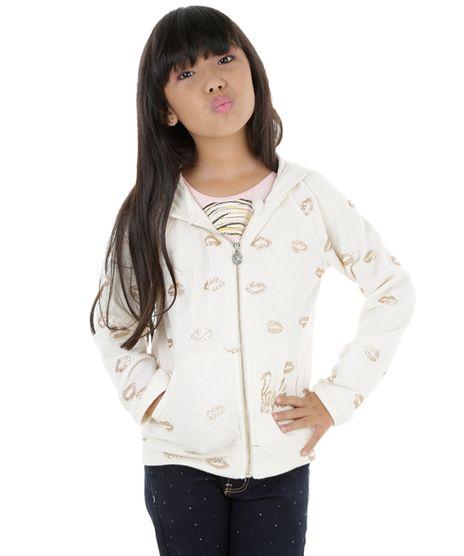 Blusao-em-Moletom-com-Capuz-Barbie-Bege-Claro-8198341-Bege_Claro_1