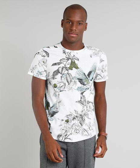 Camiseta-Masculina-Estampada-Floral-Manga-Curta-Gola-Careca-Off-White-9341856-Off_White_1