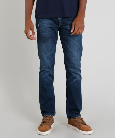 d82624f262 Calca-Jeans-Masculina-Reta-Azul-Escuro-9305826-Azul Escuro 1