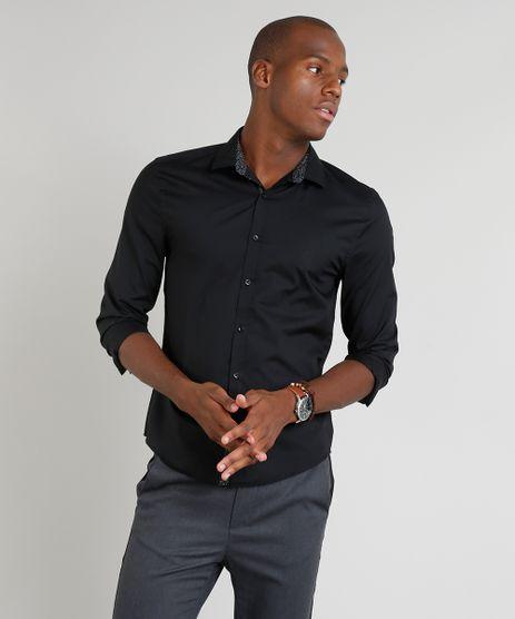 Camisa-Masculina-Slim-Manga-Longa-Preta-9251573-Preto_1