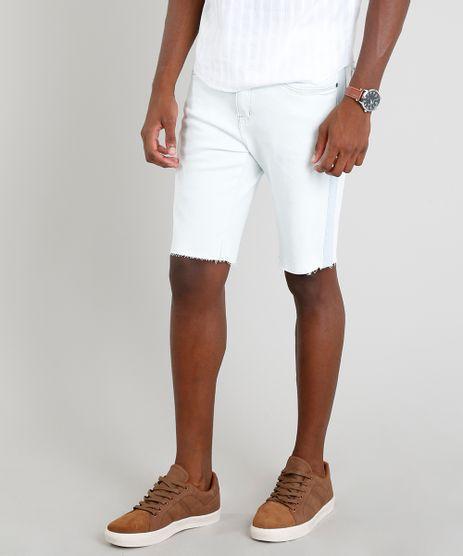 Bermuda-Jeans-Masculina-Slim-com-Recorte-Azul-Claro-9309297-Azul_Claro_1