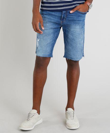 Bermuda-Jeans-Masculina-Slim-Azul-Medio-9309296-Azul_Medio_1