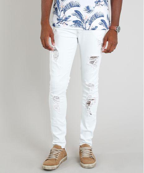 Calca-Jeans-Masculina-Skinny-Destroyed-Azul-Claro-9305824-Azul_Claro_1