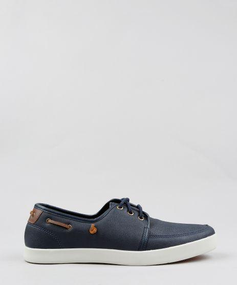 ec59f81f56 Sapato-Dockside-Masculino-com-Cadarco-Azul-Marinho-9355994-