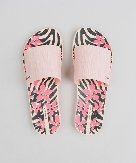 Chinelo-Slide-Feminino-Ipanema-Estampado-Animal-Print-Rose-9378270-Rose_1
