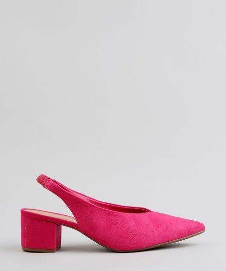 Scarpin-Bico-Fino-Feminino-em-Suede-com-Abertura-Pink-9283940-Pink_1