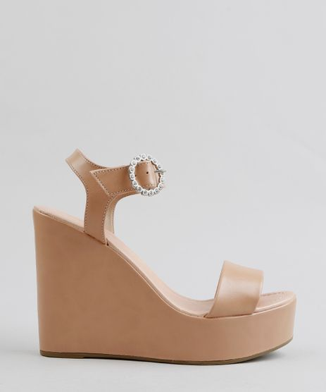 Sandalia-Plataforma-Feminina--Bege-9325392-Bege_1