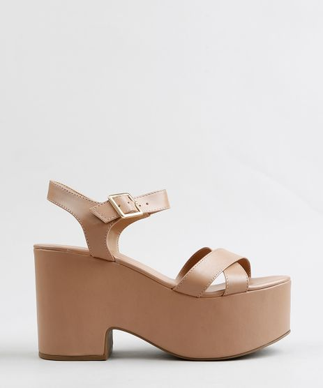 Sandalia-Plataforma-Feminina--Bege-9307745-Bege_1