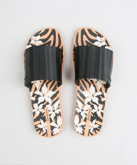 Chinelo-Slide-Feminino-Ipanema-Estampado-Animal-Print-Preto-9378269-Preto_1