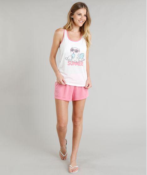 07561ab5f Pijama Feminino Estampado