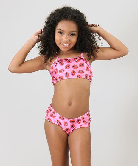 Biquini-Infantil-Triya-Tal-Mae-Tal-Filha-Estampado-Bocas-com-Babado-Protecao-UV50--Pink-9285606-Pink_1