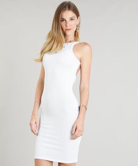 71fb26f619 Vestido-Feminino-Cavado-com-Lurex-Branco-9343206-Branco 1