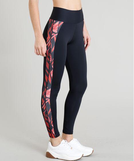 e2ad5d277ad Calça Legging Feminina Esportiva Ace com Recorte Proteção UV50+ ...