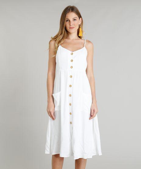Vestido-Feminino-Midi-com-Bolsos-Branco-9311016-Branco_1