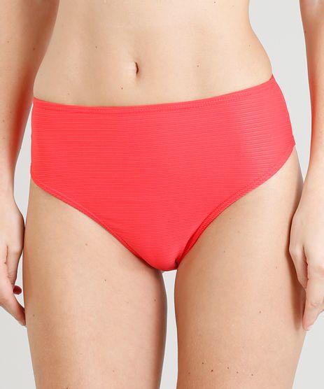 Biquini-Calcinha-Hot-Pant-Texturizado-com-Protecao-UV50--Coral-9288927-Coral_1