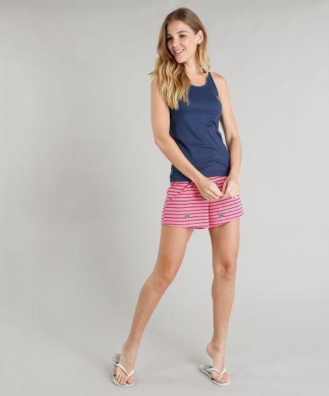 Pijama-Feminino-com-Bordado-Navy-Regata-Azul-Marinho-9296035-Azul_Marinho_1