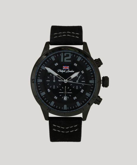Relogio-Cronografo-Philiph-London-Masculino---PL80071612M-Preto-9415852-Preto_1