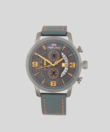 Relogio-Cronografo-Philiph-London-Masculino---PL80064612M-Grafite-9415820-Grafite_1