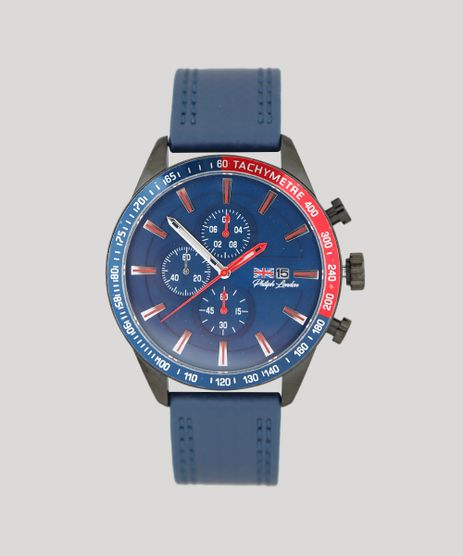 Relogio-Cronografo-Philiph-London-Masculino---PL80062612M-Azul-Marinho-9415814-Azul_Marinho_1