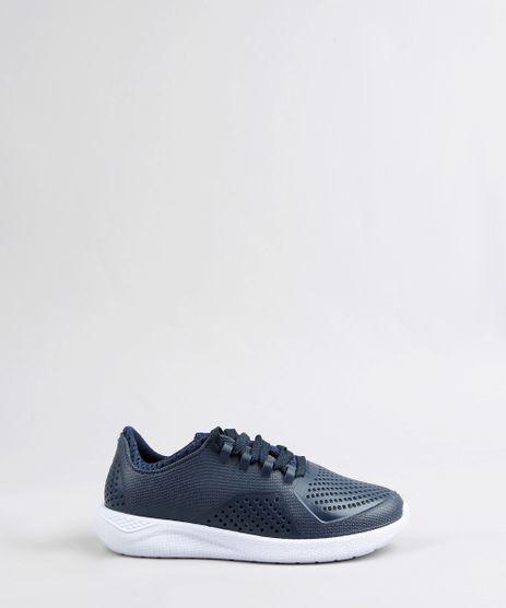 Tenis-Infantil-Esportivo-Running-com-Microfuros-Azul-Marinho-9359594-Azul_Marinho_1