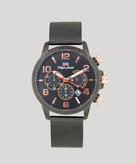 Relogio-Cronografo-Philiph-London-Masculino---PL80057613M-Preto-9415798-Preto_1