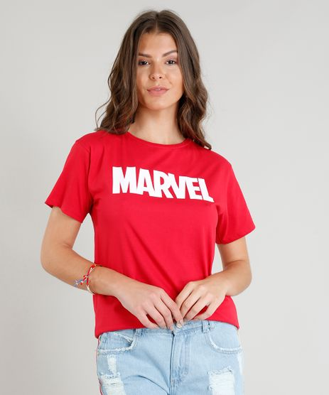 Blusa-Feminina-Marvel-Manga-Curta-Decote-Redondo-Vermelha-9374899-Vermelho_1