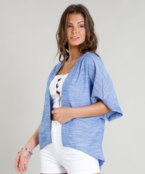 Kimono-Jeans-Feminino-Manga-Curta-Azul-Claro-9182951-Azul_Claro_1