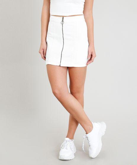 Saia-Jeans-Feminina-Evase-com-Ziper-de-Argola-Off-White-9346407-Off_White_1
