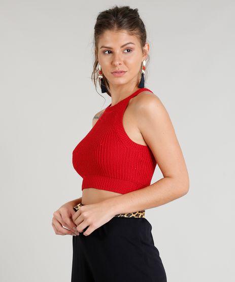 Regata-Feminina-Cropped-Halter-Neck-em-Trico-Vermelha-9260816-Vermelho_1