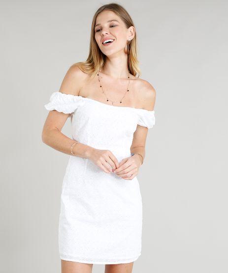 Vestido-Feminino-Curto-em-Laise-Decote-Canoa-Branco-9262799-Branco_1