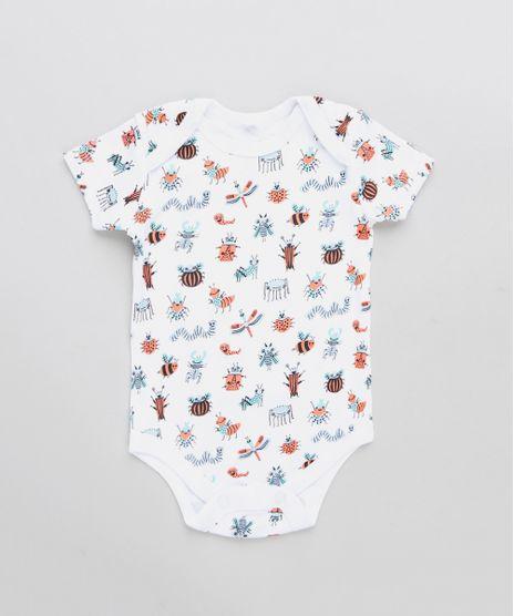 Body-Infantil-Estampado-Insetos-Manga-Curta-Gola-Careca-Branco-9198411-Branco_1