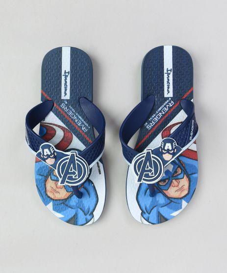 Chinelo-Infantil-Capitao-America-Ipanema-Azul-Escuro-9324850-Azul_Escuro_1