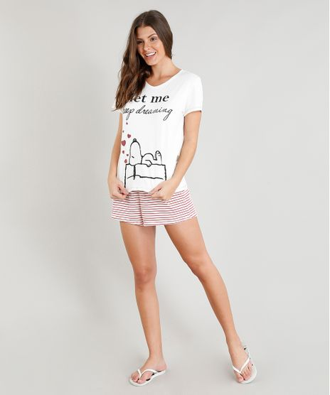 Pijama-Feminino-Snoopy-Manga-Curta-Off-White-9296556-Off_White_1