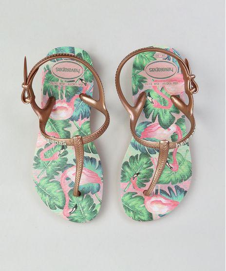a9c029b76 Chinelo-Infantil-Havaianas-Estampado-de-Flamingo-Rosa-9324020-