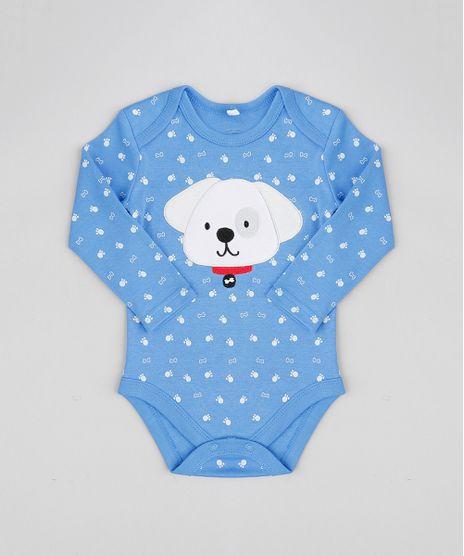 Body-Infantil-Cachorro-Estampado-Manga-Longa-Gola-Careca-Azul-9110057-Azul_1