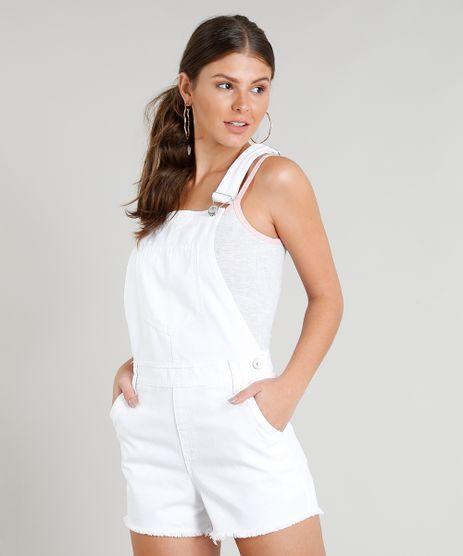 Jardineira-de-Sarja-Feminina-com-Barra-Desfiada-Branca-9346375-Branco_1