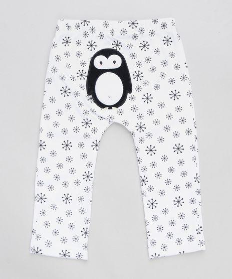 Calca-Infantil-Pinguim-Estampada-Branca-9110046-Branco_1