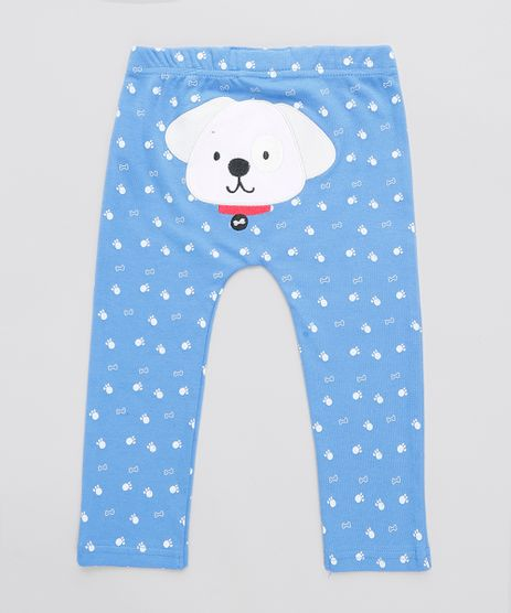 Calca-Infantil-Cachorro-Estampada-Azul-9110053-Azul_1