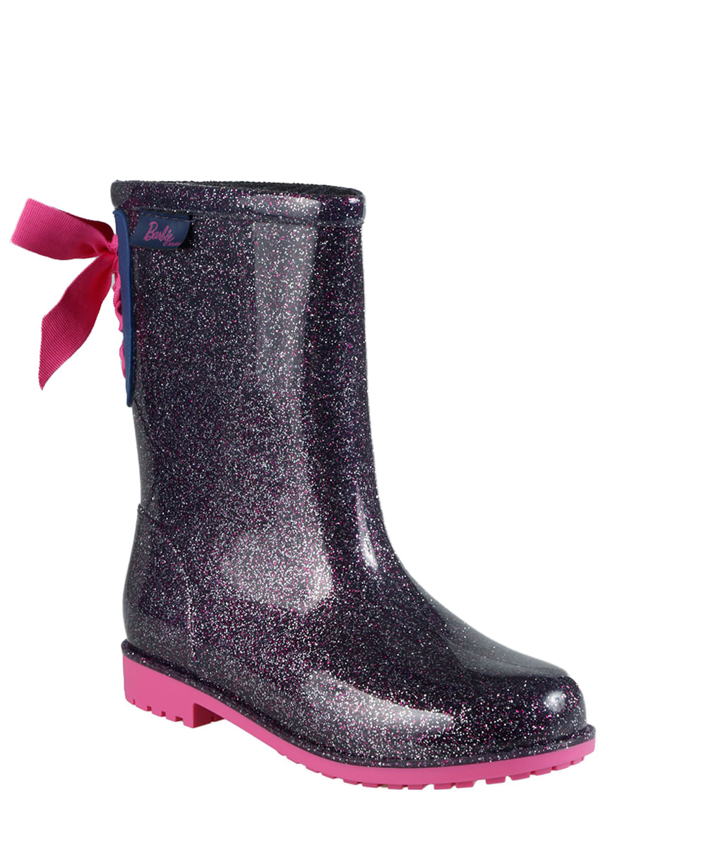 15339653624 Bota Galocha Barbie Roxa - cea