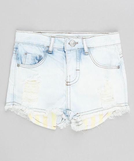 Short-Jeans-Infantil-Destroyed-com-Bolsos-Azul-Claro-9341278-Azul_Claro_1