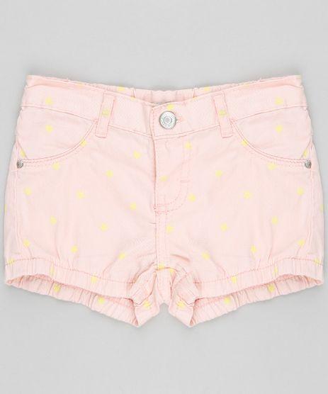 Short-Color-Infantil-Balone-Estampado-de-Estrelas-com-Bolsos-Rose-9341522-Rose_1