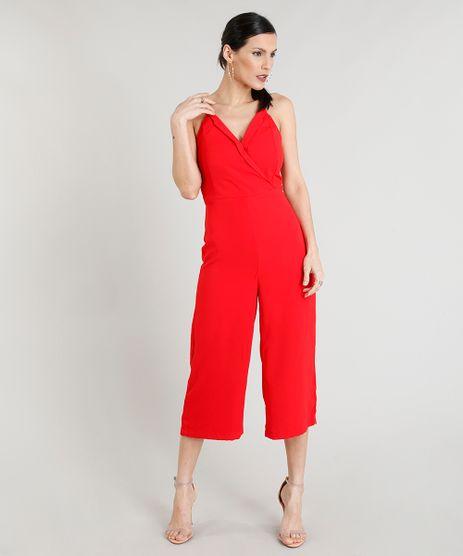 Macacao-Pantacourt-Feminino-Decote-V-Vermelho-9275752-Vermelho_1