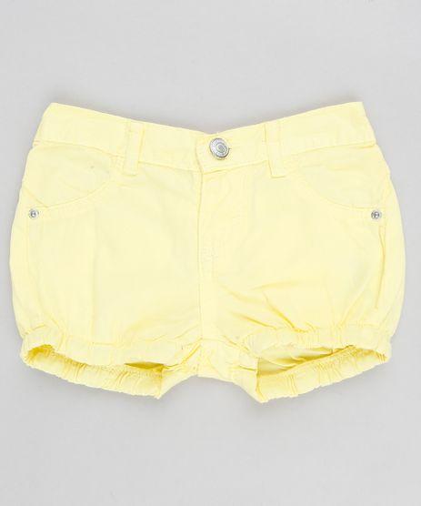 Short-Color-Infantil-Balone-com-Bolsos-Amarelo-9341524-Amarelo_1