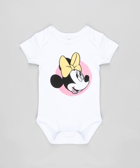 Body-Infantil-Minnie-Manga-Curta-Decote-Redondo-Branco-9190670-Branco_1