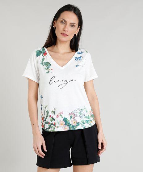 Blusa-Feminina-Botone-Floral-com-Linho-Decote-V-Manga-Curta-Off-White-9355851-Off_White_1